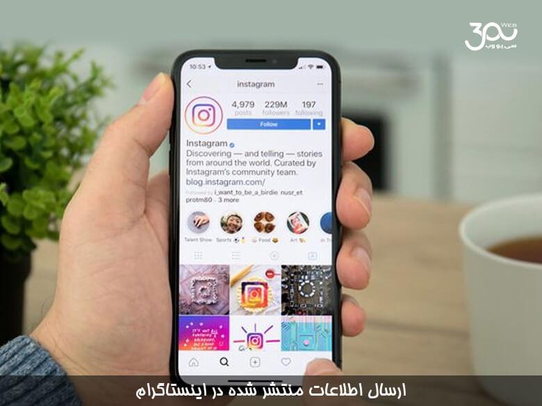 اینستاگرام به کاربران اجازه می دهد یک کپی از اطلاعاتی که منتشر کرده اند را داشته باشند