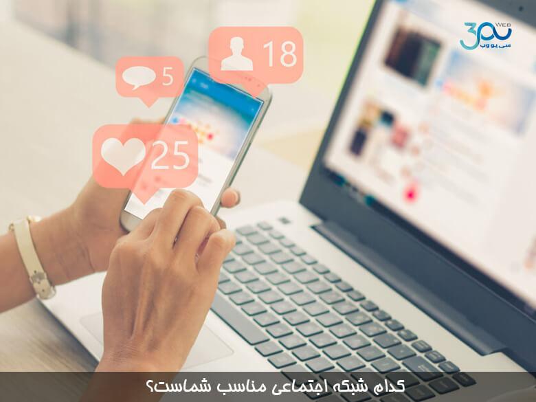 کدام شبکه اجتماعی بیشترین ترافیک را به وب سایت شما وارد می کند