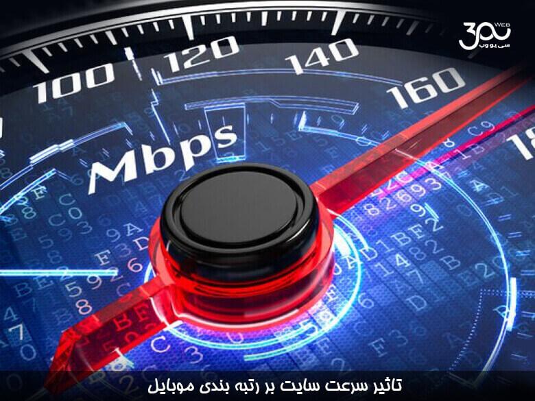 سرعت سایت یکی از فاکتورهای رتبه بندی در جستجوی موبایل